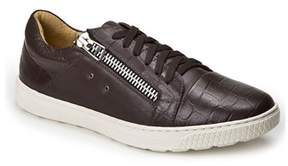 Sandro Moscoloni Cassius Lace Up Sneaker With Zipper.