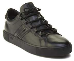 Tod's Men's Leather Sneaker Shoes Black.