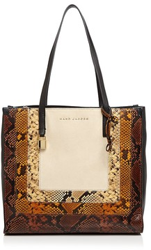 Marc Jacobs The Snaked Grind East/West Leather Tote - PAPYRUS MULTI/GOLD - STYLE
