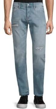 Jean Shop Distressed Cotton Jeans