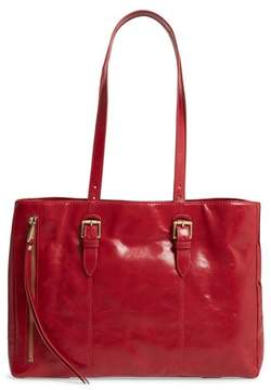 Hobo Cabot Calfskin Leather Tote - Red