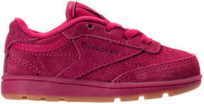 Reebok Girls' Toddler Club C Casual Shoes