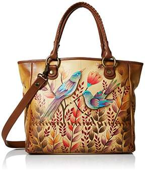 Anuschka Anna by Hand Painted Leather Women's Large Tote