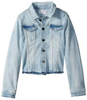 DL1961 Kids Mid Wash Denim Jacket in Pirate Kid's Coat