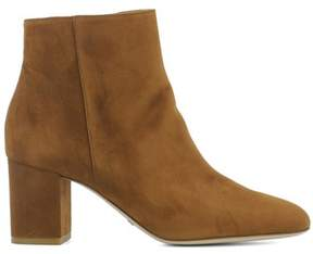Sebastian Women's Brown Leather Ankle Boots.