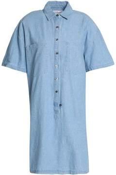 Derek Lam 10 Crosby Cotton-Chambray Shirt Dress