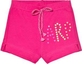 Agatha Ruiz De La Prada Pink Agatha Initial Print Shorts