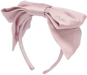MonnaLisa Ottoman Headband W/ Bow