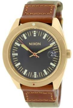 Nixon Men's Rover A3551432 Green Cloth Quartz Watch