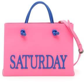 Alberta Ferretti Leather Saturday Shopping Bag