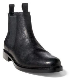 Ralph Lauren Normanton Leather Chelsea Boot Black 10