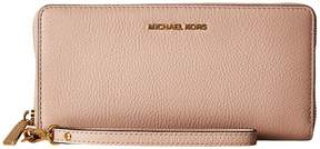 MICHAEL Michael Kors Mercer Travel Continental Travel Pouch - BLACK - STYLE