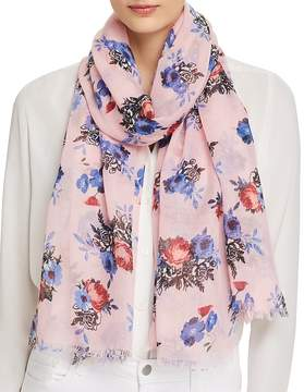 Aqua Garden Bouquet Scarf - 100% Exclusive
