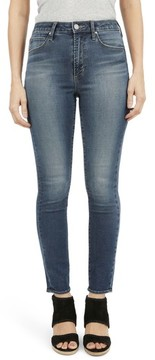 Articles of Society Women's Heather High Waist Skinny Jeans