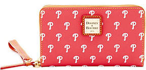Dooney & Bourke MLB Phillies Zip Around PhoneWristlet - ONE COLOR - STYLE