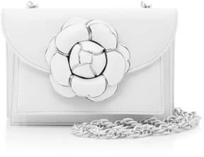 Oscar de la Renta Gardenia Double Crossbody Bag