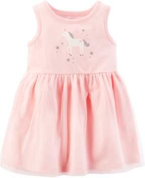 Carter's Baby Girls Unicorn Dress