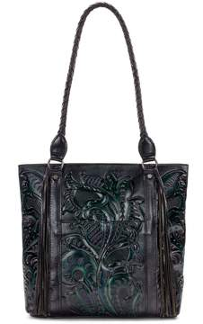 Patricia Nash Burnished Tooled Collection Rena Tote