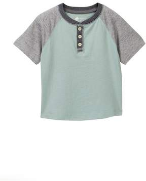 Tucker + Tate Short Sleeve Henley Tee (Toddler & Little Boys)