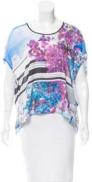 Clover Canyon Printed Cutout Top w/ Tags