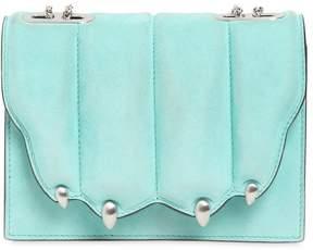 Small Griffe Suede Shoulder Bag