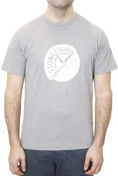 Stone Island T-shirt With Printed Logo