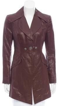 Christian Lacroix Bazar de Structured Linen Jacket w/ Tags