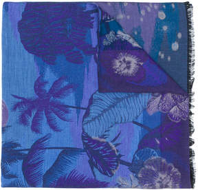 Paul Smith Midnight jacquard scarf