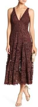 Dress the Population Madelyn Midi Lace Dress