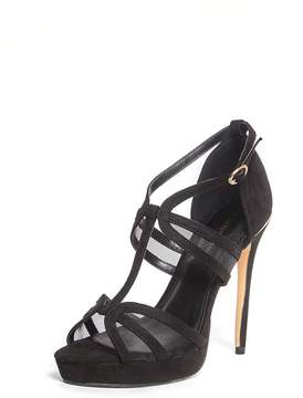Dorothy Perkins Black 'Beverly' T-Bar Sandals