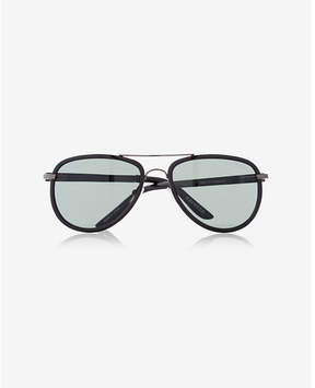 Express textured armband aviator sunglasses