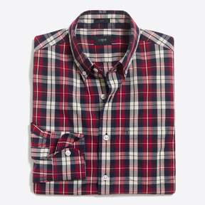 J.Crew Factory Navy Blue Plaid