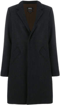 A.P.C. tailored buttoned coat