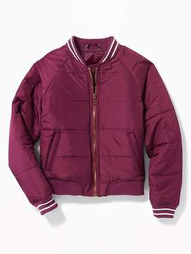 Old Navy Lightweight Quilted Bomber Jacket for Girls