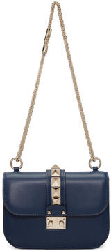 Valentino Blue Garavani Small Lock Bag