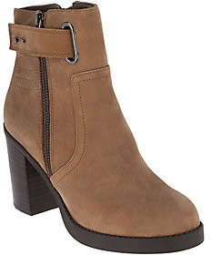 Sole Society As Is Nubuck Ankle Boots- Jessy