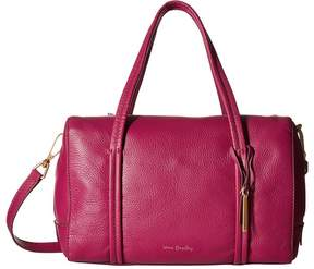 Vera Bradley Mallory Satchel Satchel Handbags - WILD BERRY - STYLE