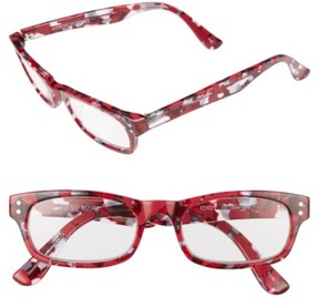 Corinne McCormack Women's Cindy 50Mm Reading Glasses - Berry
