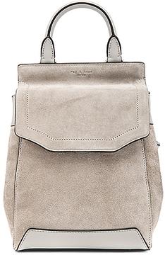 Rag & Bone Small Pilot Backpack in Gray.
