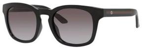 Gucci Sunglasses 1126/F/S 0D28 Shiny Black / N6 gray gradient lens