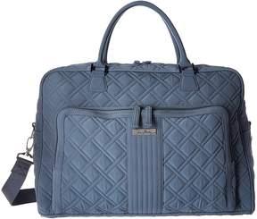 Vera Bradley Weekender Duffel Bags - CHARCOAL - STYLE