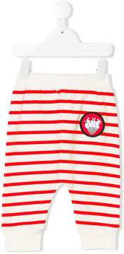 Stella McCartney Pudding striped track pants