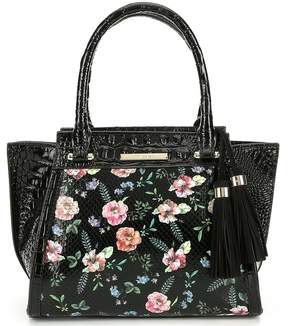 Brahmin Thames Collection Floral Print Mini Priscilla Satchel
