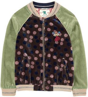 Scotch & Soda Velvet bomber jacket