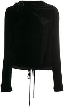 A.F.Vandevorst tie waist blouse