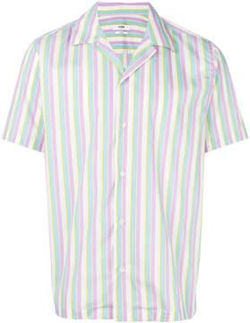 Cmmn Swdn striped short-sleeve shirt
