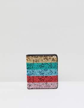 Asos DESIGN sequin purse