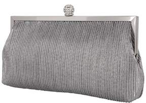Nina Pleated Shine Clutch.
