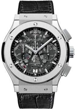 Hublot Tourbillon Skeleton Titanium Skeleton Dial Men's Watch