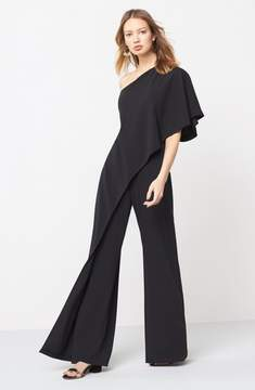 Adrianna Papell Women's One-Shoulder Jumpsuit